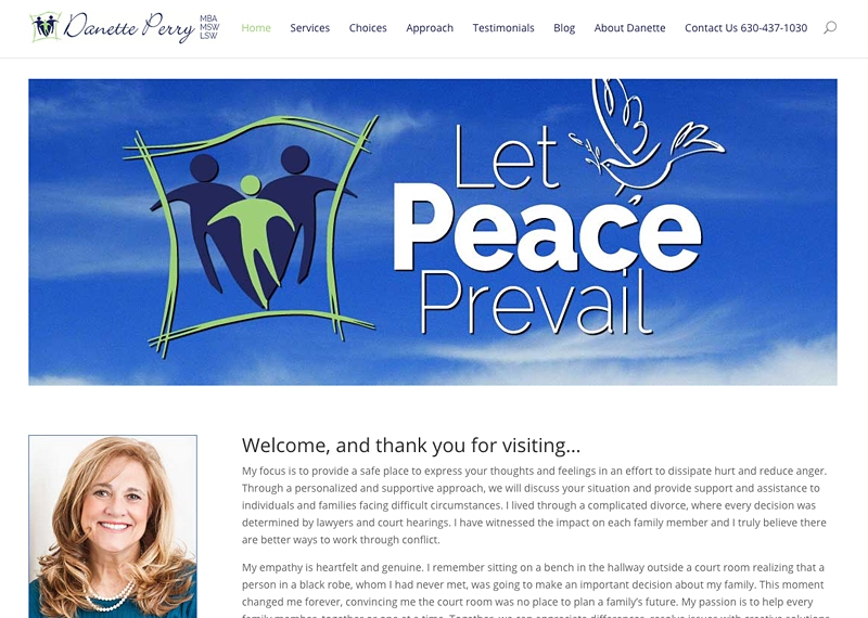 Therapist Site with Blog