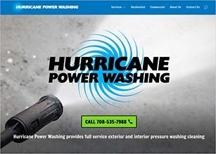 power washing website