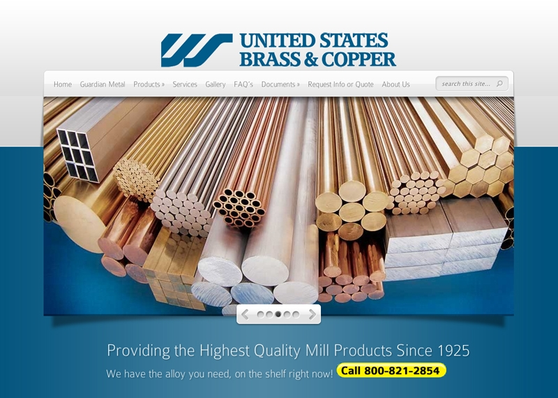 US Brass and Copper Site